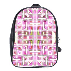 Modern Pattern Factory 01 School Bags (xl)  by MoreColorsinLife