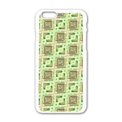 Modern Pattern Factory 04 Apple iPhone 6/6S White Enamel Case by MoreColorsinLife