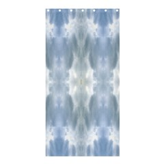Ice Crystals Abstract Pattern Shower Curtain 36  X 72  (stall)  by Costasonlineshop