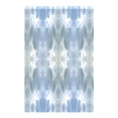 Ice Crystals Abstract Pattern Shower Curtain 48  X 72  (small)  by Costasonlineshop