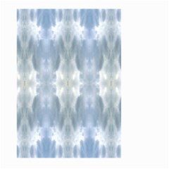 Ice Crystals Abstract Pattern Large Garden Flag (two Sides) by Costasonlineshop