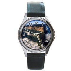 Mount Roraima 2 Round Metal Watches by trendistuff