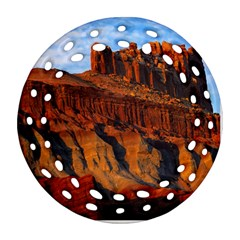 GRAND CANYON 3 Round Filigree Ornament (2Side) by trendistuff