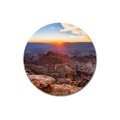 Grand Canyon 1 Magnet 3  (round) by trendistuff