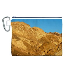 Death Valley Canvas Cosmetic Bag (l) by trendistuff