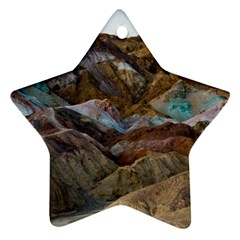 ARTISTS PALETTE 2 Star Ornament (Two Sides)  by trendistuff