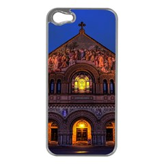 Stanford Chruch Apple Iphone 5 Case (silver) by trendistuff