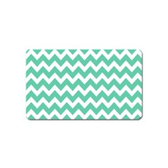 Chevron Pattern Gifts Magnet (name Card) by creativemom