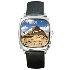Pyramid Giza Square Metal Watches by trendistuff