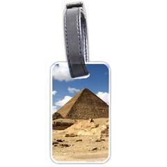 Pyramid Giza Luggage Tags (one Side)  by trendistuff