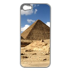 Pyramid Giza Apple Iphone 5 Case (silver) by trendistuff