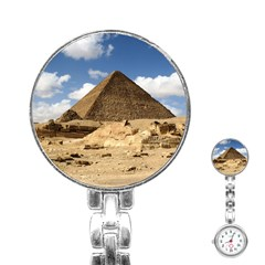 Pyramid Giza Stainless Steel Nurses Watches by trendistuff
