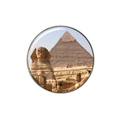 Pyramid Egypt Hat Clip Ball Marker (10 Pack) by trendistuff