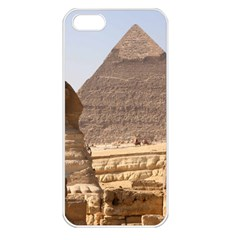 Pyramid Egypt Apple Iphone 5 Seamless Case (white) by trendistuff
