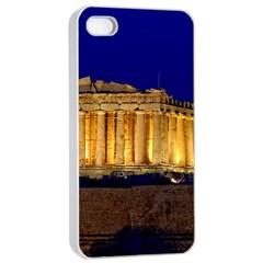 Parthenon 2 Apple Iphone 4/4s Seamless Case (white) by trendistuff