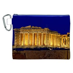 Parthenon 2 Canvas Cosmetic Bag (xxl)  by trendistuff