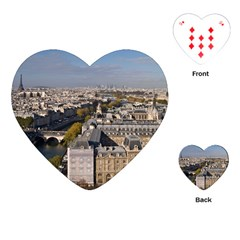 Notre Dame Playing Cards (heart)  by trendistuff