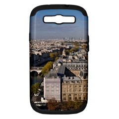 Notre Dame Samsung Galaxy S Iii Hardshell Case (pc+silicone) by trendistuff