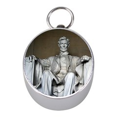 Lincoln Memorial Mini Silver Compasses by trendistuff