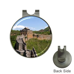 Great Wall Of China 3 Hat Clips With Golf Markers by trendistuff