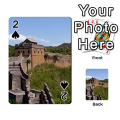GREAT WALL OF CHINA 3 Playing Cards 54 Designs  by trendistuff