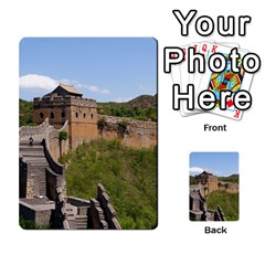 Great Wall Of China 3 Multi Purpose Cards (rectangle)  by trendistuff