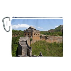 Great Wall Of China 3 Canvas Cosmetic Bag (l) by trendistuff
