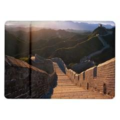 GREAT WALL OF CHINA 2 Samsung Galaxy Tab 10.1  P7500 Flip Case by trendistuff