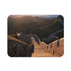 Great Wall Of China 2 Double Sided Flano Blanket (mini)  by trendistuff