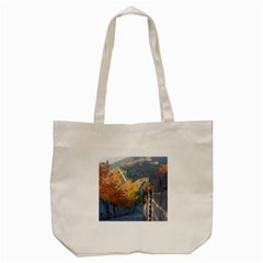 Great Wall Of China 1 Tote Bag (cream)  by trendistuff