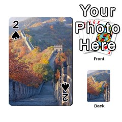 Great Wall Of China 1 Playing Cards 54 Designs  by trendistuff