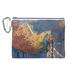 Great Wall Of China 1 Canvas Cosmetic Bag (l) by trendistuff