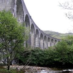 Glenfinnan Viaduct 2 Magic Photo Cubes by trendistuff