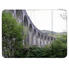 Glenfinnan Viaduct 2 Samsung Galaxy Tab 7  P1000 Flip Case by trendistuff