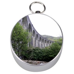 Glenfinnan Viaduct 2 Silver Compasses by trendistuff