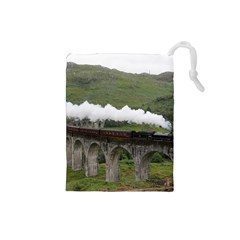 Glenfinnan Viaduct 1 Drawstring Pouches (small)  by trendistuff