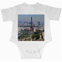 Eiffel Tower 2 Infant Creepers by trendistuff