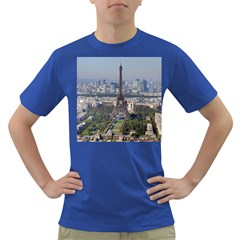 Eiffel Tower 2 Dark T Shirt by trendistuff