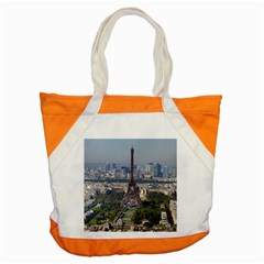 Eiffel Tower 2 Accent Tote Bag  by trendistuff