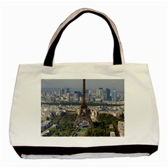 Eiffel Tower 2 Basic Tote Bag (two Sides)  by trendistuff