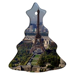 Eiffel Tower 2 Christmas Tree Ornament (2 Sides) by trendistuff
