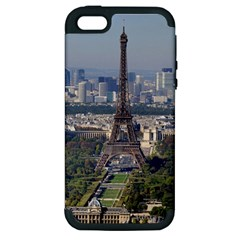 Eiffel Tower 2 Apple Iphone 5 Hardshell Case (pc+silicone) by trendistuff