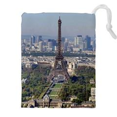 Eiffel Tower 2 Drawstring Pouches (xxl) by trendistuff