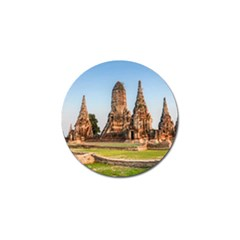 Chaiwatthanaram Golf Ball Marker by trendistuff