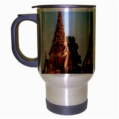 Chaiwatthanaram Travel Mug (silver Gray) by trendistuff