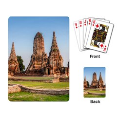 Chaiwatthanaram Playing Card by trendistuff