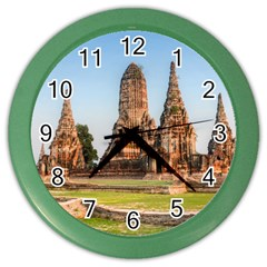 Chaiwatthanaram Color Wall Clocks by trendistuff