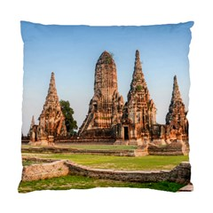 Chaiwatthanaram Standard Cushion Cases (two Sides)  by trendistuff