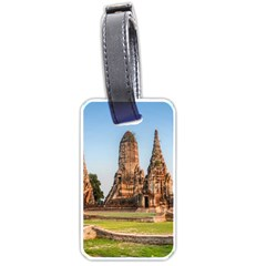 Chaiwatthanaram Luggage Tags (two Sides) by trendistuff