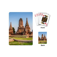 Chaiwatthanaram Playing Cards (mini)  by trendistuff